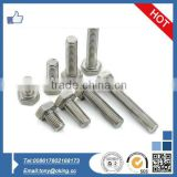 High quality din933 grade 10.9 hex bolt and nut