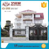 Factory price used metal security gates, aluminum indian house main gate designs, sliding gate designs for homes