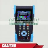 L-T2623T CCTV Tester IP&Analog Camera Testing PTZ Visual fault locator Wire tracker Digital multimeter TDR test 3.5'' TFT LCD