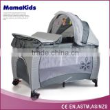 Comfortable baby play yard , baby furniture , baby safety playpen