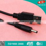 New fashion usb to 3.5mm barrel jack 5v dc power cable Cavo di alimentazione CC usb to dc cable