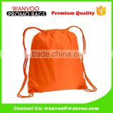 Solid Color Drawstring Back pack Camping for Children