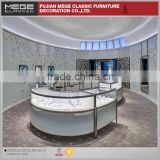 Fashion Design Mall Jewelry Kiosk Showcase For Sale
