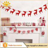 Christmas Supplies Custom Hanging Banner Xmas Decorations String Flag Home Decor