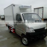 Changan mini refrigerator truck refrigetrator food vehicle for sale