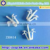 Exterior Parts Wholesale White Car Clips Mounting Clips, Plastic Car Window Clips, Grille Clip for Auto Clips