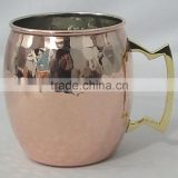 Manufacturer Moscow mule copper mug/Moscow mule copper Mugs /Solid Copper Mug/16 Onz Mug Pure 100% Copper