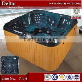 functional jetted tub shower combo, massage and bubble small mini indoor hot tub