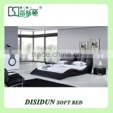 NEW Modern Platform sofa king size bed designs DS-1038