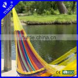 2015 New Style Outdoor Colorful Maya Rope Hammock