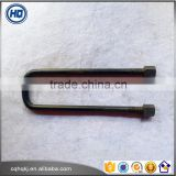 22*103*400 Good Quality Cold Forging Wholesale U Shape System Wheel Bolts Square for Hino
