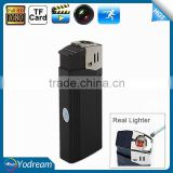 Cigarette Lighter Hidden Camera Nano Full HD 1080P Lighter Mini SPY Hidden Pinhole Kamera Video Recorder with Flashlight