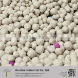 every year hot sale white ball mineral bentonite clay kitty litter