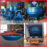 hot sell in African Wet Gold Grinding Mill,Wet Pan Gold Grinding Machine,Gold Mill from JC machine
