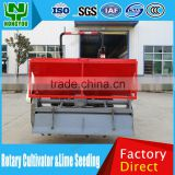 Chinese Oem Tractor Rotary Tiller Farm Rotary Tiller Low Price Farm Rotary Tiller Cultivator With Lime And Fertilizer Spreader 2