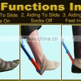 Best Selling 2016 Best Aiding Tool gadget Helps Put Socks On Off Shoehorn Quality Adjustable Chiropractor opportunit to sell