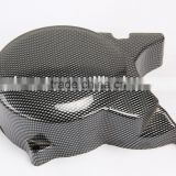 carbon fiber color engine cover 125cc engine 140cc engine 150cc engine