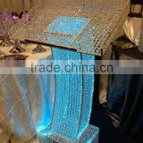wedding Crystal Podium Pillar, Decorative Podium on square pillar,Decorative Podium