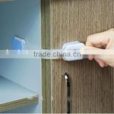 J162-2 Popualr High Quality Children Safty Adjustable Drawer Latch Door Baby Lock Baby Protection Accessories