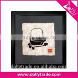 Beauty Black PS Plastic Picture Plastic Poster Frame For Wall Decorative