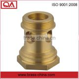 Brass valve parts valve cap