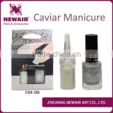26 colors gold & silver caviar nail beads, caviar nail art,nail art caviar kit manicure wholesale