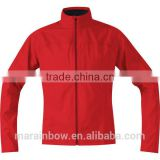 highest comfort 100% polyester Soft Shell Golf Jacket with breathability and light weight for sportsmovement