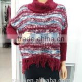 Custom factory directly women cashmere sweater jumper, 100% cashmere loose women sweater