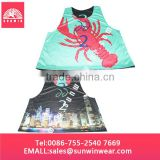 Custom Reversible Training Sports Mesh Bibs Pinnies, sublimated lacrosse jersey