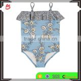 Lovely children custom little girls One-Piece Swimsuit cute young girl modeling bikini kids swimwear