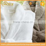 100% Cotton White Color Waffle Towel Hotel Bathrobe