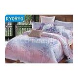 Bamboo Carton Fiber Bedding Sets of Pillow Case and Quilt Cover and Fitted Sheet