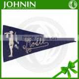 wholesale customized felt decrative hot sale school pennants