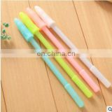 Kawaii Finger shape Gel pen for writing Candy color 0.38mm black ink pens office material school supplies