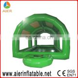 green cheap inflatable pools toy inflatable pool with roof