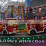 Amusement park railway trains Fire brigade theme electric ride on train