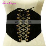 Prefect Sale adjuatable black leather waist belt lingerie sexy fat women corsets