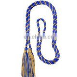 Royal Blue and Gold Intertwined tassel Cords