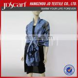 Wholesale jacquard scarf for women with cut flowers