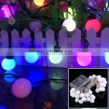 .4m 15 LEDs SMD 0603 IP65 Waterproof LR44 Button Batteries Silver Color Copper Wire Starry String Light Rope(Colorful Light)