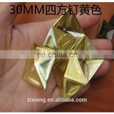 Alloy pyramid studs for furniture