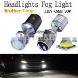 Canbus DC10V-30V CREE LED White 30W 1157 3157 7743 Headlight Truck Car Signal Tail Brake Stop Parking Light