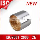 Stainless steel bushing ,sleeve sliding bearing, flanged guide bushing , copper dry bearing ,DU DX bushing