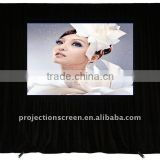 Back support rear fast fold projection screen,projection screen, easy move and portable, front and rear projection screen