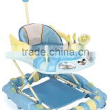Hot Sale Round Toy Baby Walker LW1832P With Push Bar