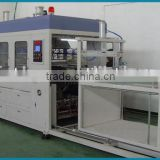 Automatic PS / HIPS / PVC / PET / PP and Flocking sheet blister vacuum forming machine