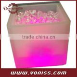 LED Light up Flower Pot for Outdoor, Indoor Use, Light up Ice Bucket, Beer Ice Bucket, Wine Ice Bucket