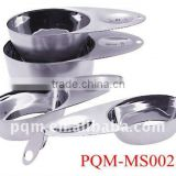 Set of 4 pcs stainless steel measuring cups 002                                                                         Quality Choice