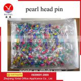 Wholesale 38mm plastic pearl ball head decorative pins with good use