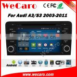 Wecaro WC-AD7683 Android 5.1.1 multimedia system for audi a3 s3 2003-2011 car audio car radio gps navigation